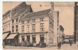 Eeklo - Eecloo - Café Gouden Pluim - Groote Markt 22- Uitg. Nels - Caffé
