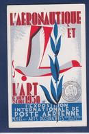 CPA Aviation Exposition Poste Aérienne 1930 Non Circulé - Autres