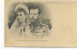 PRECURSEUR - LL. MM. L'Empereur Et L'Impératrice De Russie - Dunkerque Le... - Phototypie Ed. Laussedat, Chateaudun - Familles Royales