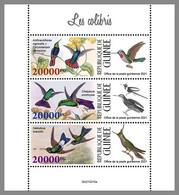 GUINEA REP. 2021 MNH Hummingbirds Kolibris Colibris M/S - IMPERFORATED - DHQ2130 - Hummingbirds