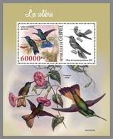 GUINEA REP. 2021 MNH Hummingbirds Kolibris Colibris S/S - IMPERFORATED - DHQ2130 - Hummingbirds