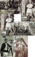 Brazil 2015 Complete Series 6 Maximum Card150 Years Of Marshal Cândido Mariano Da Silva Rondon - Tarjetas – Máxima