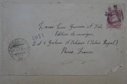 X9 CANADA  BELLE  LETTRE  1893 MONTREAL  POUR PARIS FRANCE   + AFFRAN.  INTERESSANT - Lettres & Documents