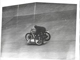 ANCIENNE PHOTO   MOTO    24x18 Cm - Sport