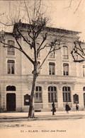 CPA   30  ALAIS---HOTEL DES POSTES---1917 - Alès