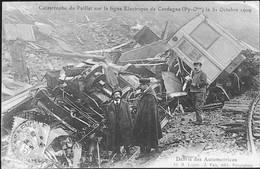 CERDAGNE - Catastrophe Du PAILLAT Sur La Ligne Electrique - Débris Des Automotrices - Other Municipalities