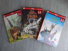 Set Of 3 Books : The Sorcery Epic 1, 2 & 4. Steve Jackson. Adventure Gamebooks.  Fighting Fantasy. 2nd Hand. Penguin Ed - Other