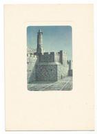 P6498 Jerusalem Gerusalemme - La Torre Di David - Illustrazione Illustration Dandolo Bellini / Non Viaggiata - Israele