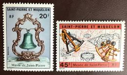 St Pierre Et Miquelon 1971 Museum MNH - Ongebruikt