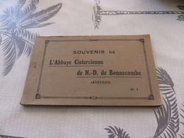 C-252 ,  Souvenir De L'Abbaye Cistercienne De Notre Dame De Bonnecombe, Aveyron,  12 CPA - Non Classés