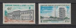 Afars Et Issas 1970 édifices Publics 355-356 2 Val. ** MNH - Neufs
