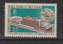 Afars Et Issas 1970 UPU 362 1 Val. ** MNH - Neufs