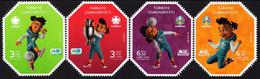 Turkey - 2021 - EURO 2020 European Football Championship - Mint Stamp Set - Nuovi