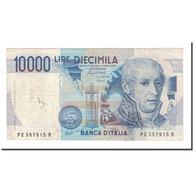 Billet, Italie, 10,000 Lire, 1984, 1984-09-03, KM:112b, B+ - 10000 Lire