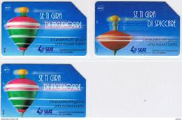 3  USATE   £. 5.000  -  30.06.1996  -  SE  TI  GIRA ....  -  MANTEGAZZA  -  QUESTE  IN  FOTO - Public Practical Advertising