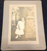 Menina * Fille * Girl - Phot.j.Wexelsen - Beira Studio- 1903 (16,5*20,5cm) - Oud (voor 1900)