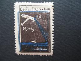Vignette - Label Stamp - Vignetta Filatelico Aufkleber France Escadrille De Protection R239 - Other