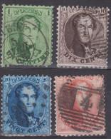 Belgique - (1863 ) Leopold - 1863-1864 Medallions (13/16)