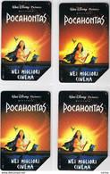 4 USATE   £. 10.000  -  30.06.1997 -  POCAHONTAS - Public Practical Advertising