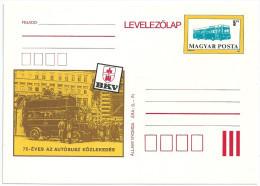 0575 Hungary Postcard Unused Transport Motor Vehicle Bus - Bus