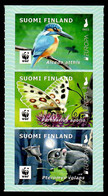 Suomi Finland / Finnland 2021 , EUROPA CEPT Heimische Wildtiere -selbstklebend / Self-adhesive - Postfrisch / MNH / (**) - Unused Stamps