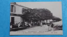 17 : ILE D'OLERON : BOYARVILLE ,HOTEL Des BAINS :,animé , C.P.A.,carte En Bon état - Ile D'Oléron