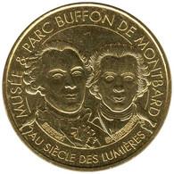 21-2369 - JETON TOURISTIQUE MDP - Musée Et Parc Buffon De Montbard - 2016.5 - 2016