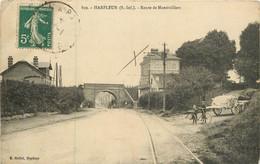 HARFLEUR Route De Montivilliers - Harfleur