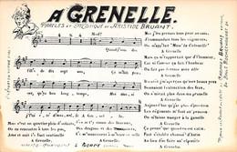PARIS - N°78351 - A Grenelle - Paroles Et Musique De Aristide Bruant - Carte Partition Et Chanson - Andere