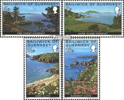 GB - Guernsey 137-140 (kompl.Ausg.) Postfrisch 1976 Landschaften - Guernesey