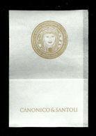 Tovagliolino Da Caffè - Canonico E Santoli - Company Logo Napkins