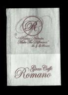 Tovagliolino Da Caffè - Caffè Romano  2 - Solofra  ( Avellino ) - Company Logo Napkins