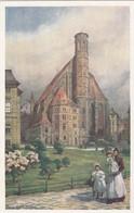 7582) WIEN - Minoritenkirche - WIENER KUNST Signiert Hans Götzinger ALT !! - Chiese