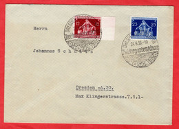 Brief Deutsches Reich Mit Sondermarken Und Sonderstempel - Sin Clasificación