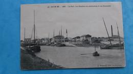 17 : ILE De RE : ARS : Le PORT Et CHANTIERS De CONTRUCTION , Animé , C.P.A.,carte En Bon état - Ile De Ré
