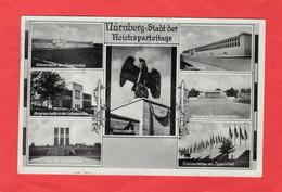 Propaganda Karte Nürnberg Stadt Der Reichsparteitage - Sin Clasificación