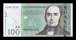 Lituania Lithuania 100 Litu Simonas Daukantas 2007 Pick 70 SC UNC - Lituanie