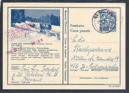 Postal Stationery Funicular To The Bad Hofgastein Thermal Baths, Salzburg. Therme Bad Hofgastein. Bad Hofgastein Thermal - Termalismo