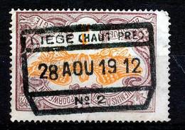 """TR 41 -  """"LIÈGE (HAUT-PRÉ) Nr 2"""" - (34.630) - 1895-1913"""