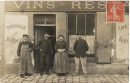 CARTE PHOTO     BAS DE MEUDON     CAFE   RESTAURANT   BENOIT MERTZ - Meudon