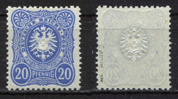 D. Reich Michel-Nr. 42c Postfrisch - Geprüft - Nuevos
