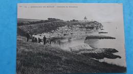 17 : MESCHERS : LA CORNICHE , Animé , C.P.A.,carte En Bon état - Meschers