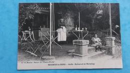 17 : MESCHERS : GROTTE , RESTAURANT De L'HERMITAGE , Animé , C.P.A.,carte En Bon état - Meschers