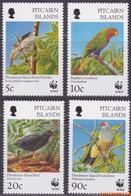 Pitcairneilanden 1996 - Mi:487/490, Stamp - XX - Wwf - Pitcairninsel