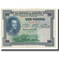 Billet, Espagne, 100 Pesetas, 1925, 1925-07-01, KM:69a, TTB - 100 Pesetas