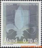 Aland 2007 - Mi:281, Yv:281, Stamp - XX - Europe 2007 Scouts - Aland