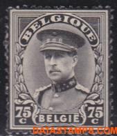 België 1934 - Mi:376, Yv:384, OBP:384, Stamp - XX - Mourning Stamp Albert I - Nuevos
