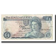 Billet, Jersey, 1 Pound, KM:11a, TB - Jersey