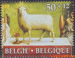 België 1986 - Mi:2260, Yv:2209, OBP:2208, Stamp - XX - Cultural Issue Lamb Of God - Unused Stamps