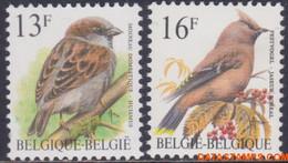 België 1994 - Mi:2585/2586, Yv:2533/2534, OBP:2533/2534, Stamp - XX - Birds House Sparrow, Plague Bird - 1985-.. Vogels (Buzin)